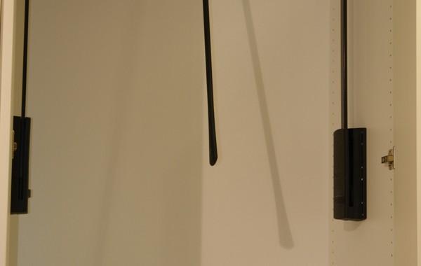 """Elevator"" wardrobe mechanism"